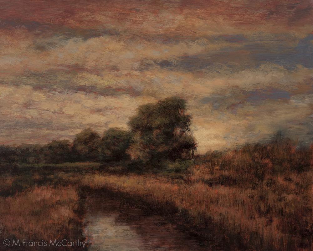 """Summer Storm"" (8x10) by M Francis McCarthy"