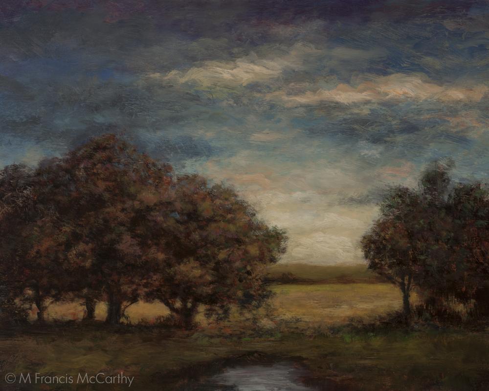 """Spring Light"" (8x10) by M Francis McCarthy"