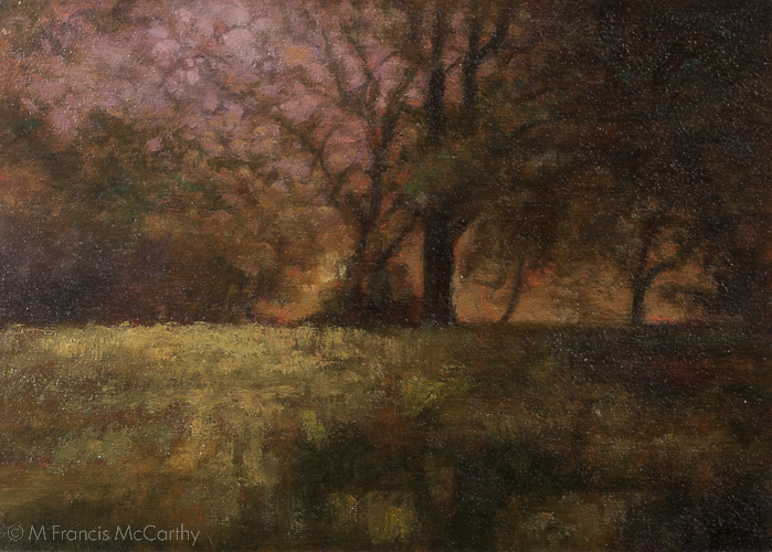"""Morning Light"" Size 5x7 by M Francis McCarthy"