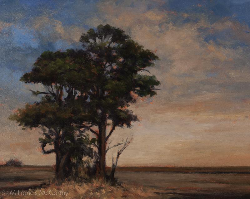 """Daybreak"" Size 8x10 by M Francis McCarthy"