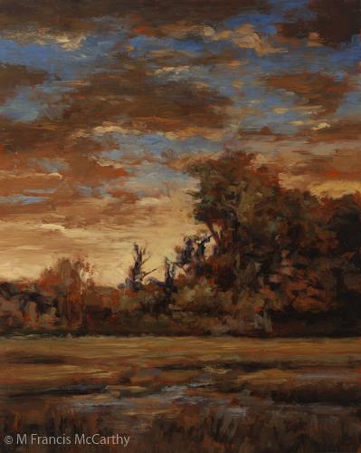 """Sundown"" Size 8x10 by M Francis McCarthy"