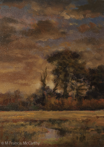"""Sundown"" Size 5x7 by M Francis McCarthy"