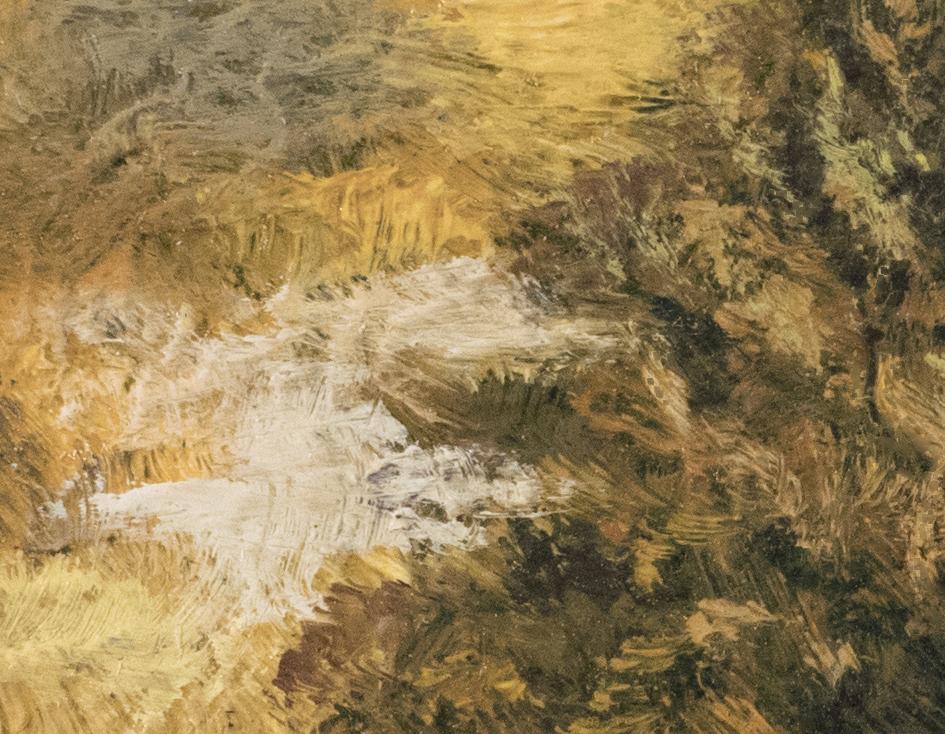 Twilight Road 3½x3½by M Francis McCarthy (Detail 2)