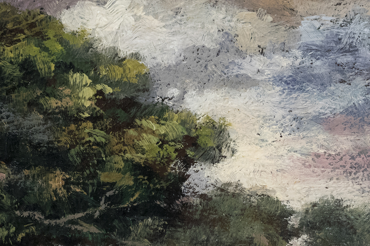 Summer Meadow 3½x5 by M Francis McCarthy (Detail)