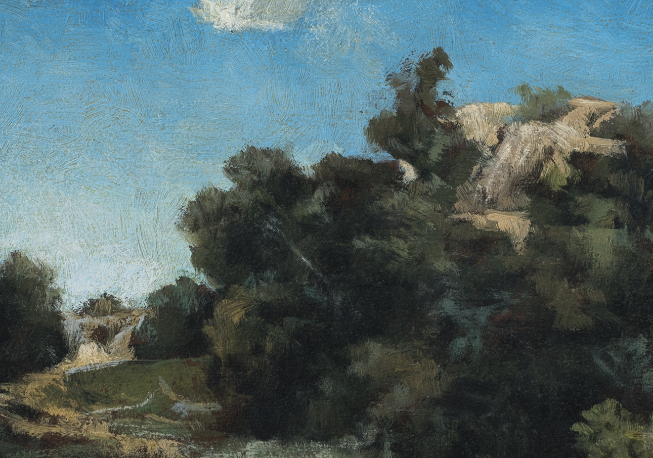Study after Arnold Böcklin A Passage by M Francis McCarthy (Detail)