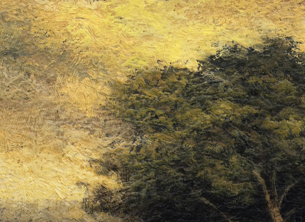 Meadow Path 6x8by M Francis McCarthy (Detail)
