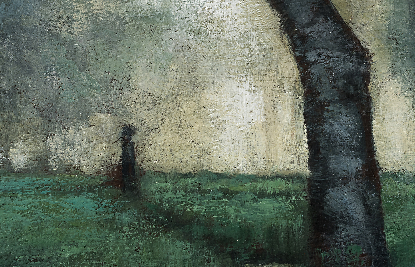 Study after George Inness the Trout Brook by M Francis McCarthy (detail)