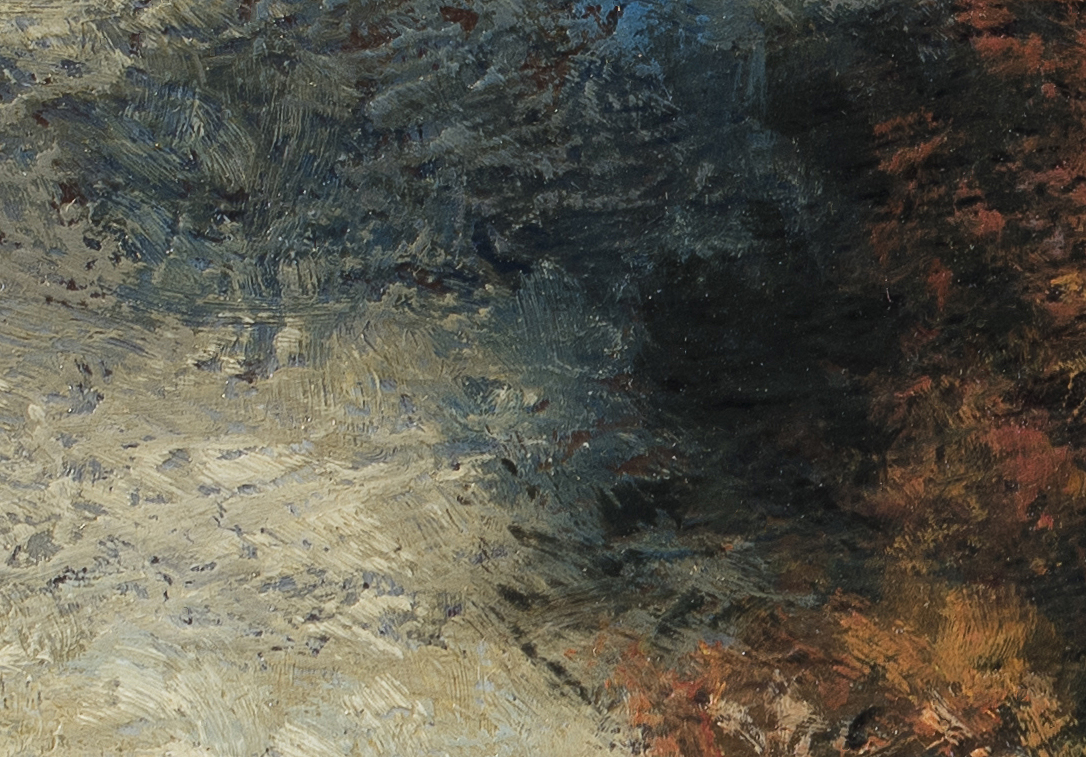 Study after J. Francis Murphy - A Stormy Day by M Francis McCarthy (Detail 2)