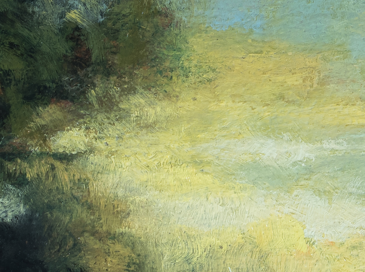 Afternoon Reverie 5x7 by M Francis McCarthy (Detail)