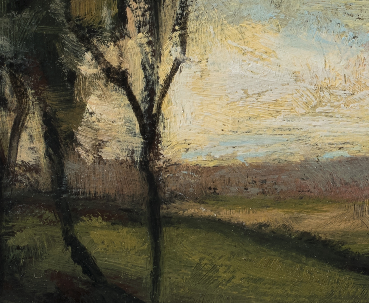 Study after Charles Appel Marsh Landscape by M Francis McCarthy (Detail 2)