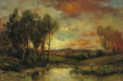 Charles Appel Marsh Landscape (Original)