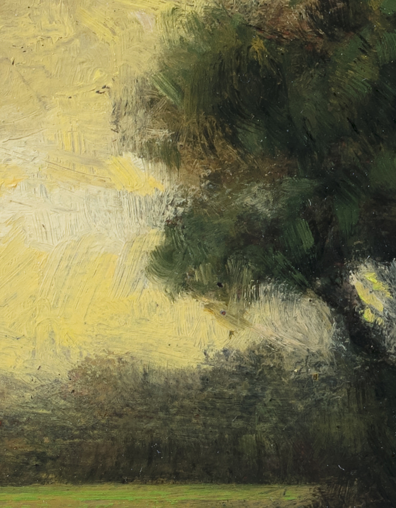 Early Spring by M Francis McCarthy - 5x7 (Detail 2)