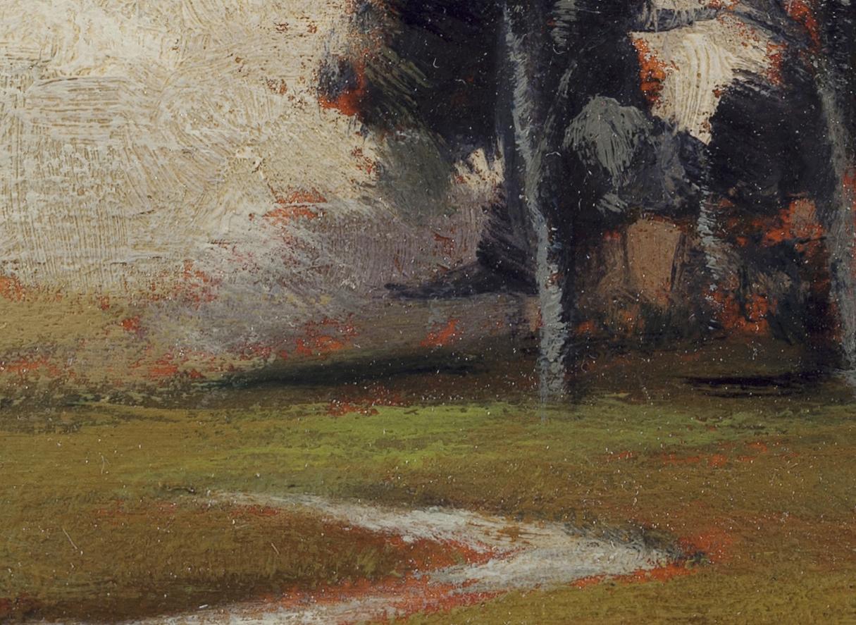 Hillside Stream by M Francis McCarthy - 5x7 (Detail 2)