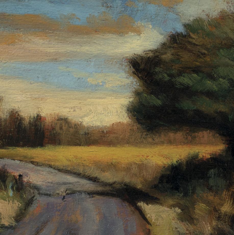 Autumn Passage by M Francis McCarthy - 5x5 (Detail)