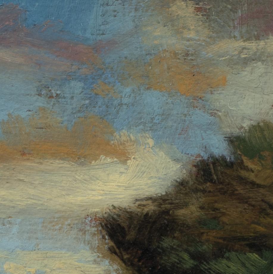 Autumn Passage by M Francis McCarthy - 5x5 (Detail 2)