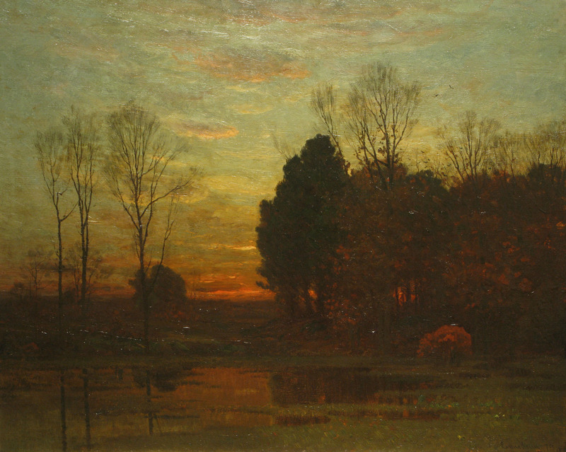 John Enneking 'Tranquility at Sunset' Original