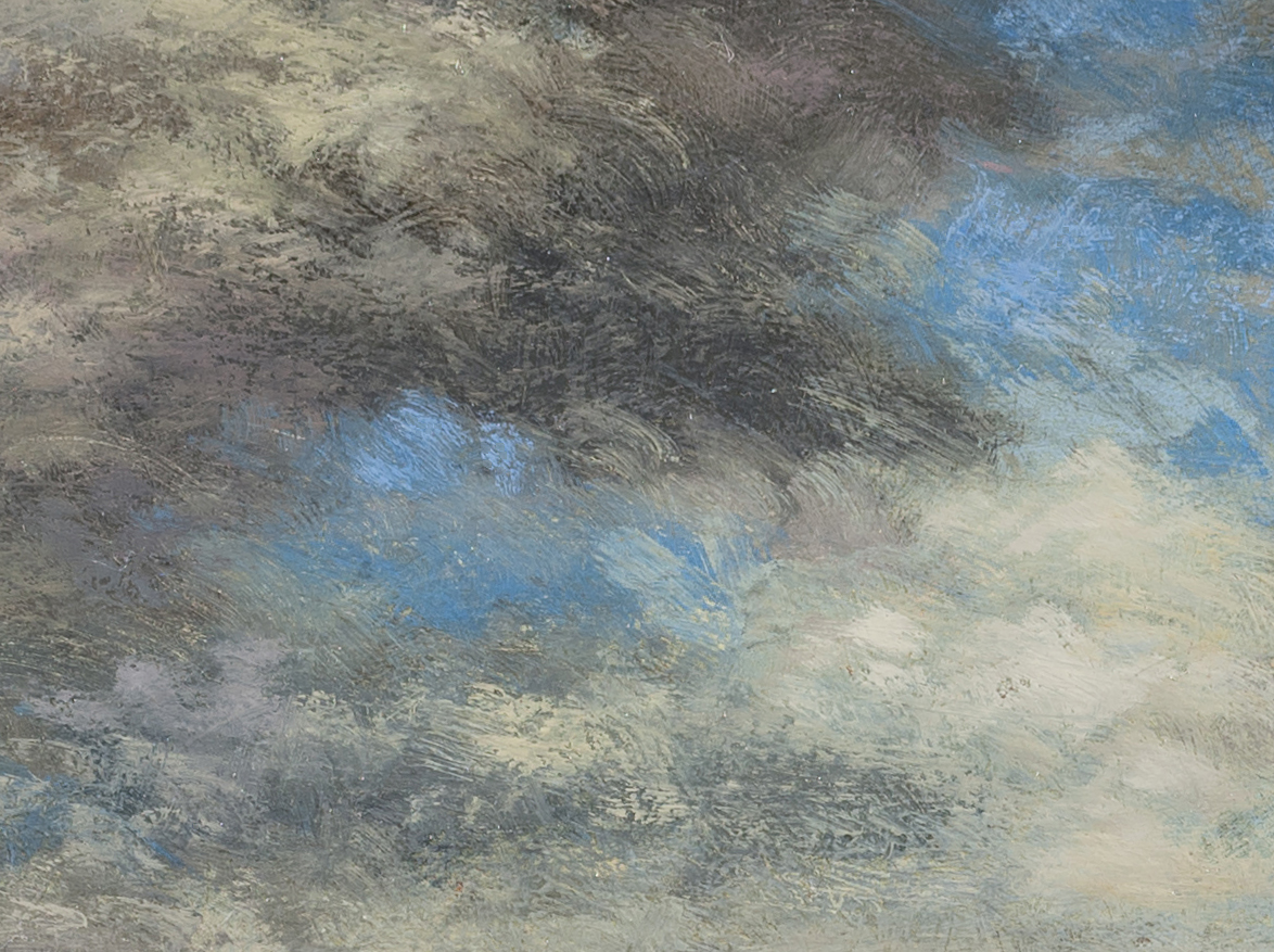 Afternoon Clouds by M Francis McCarthy (Detail 2)