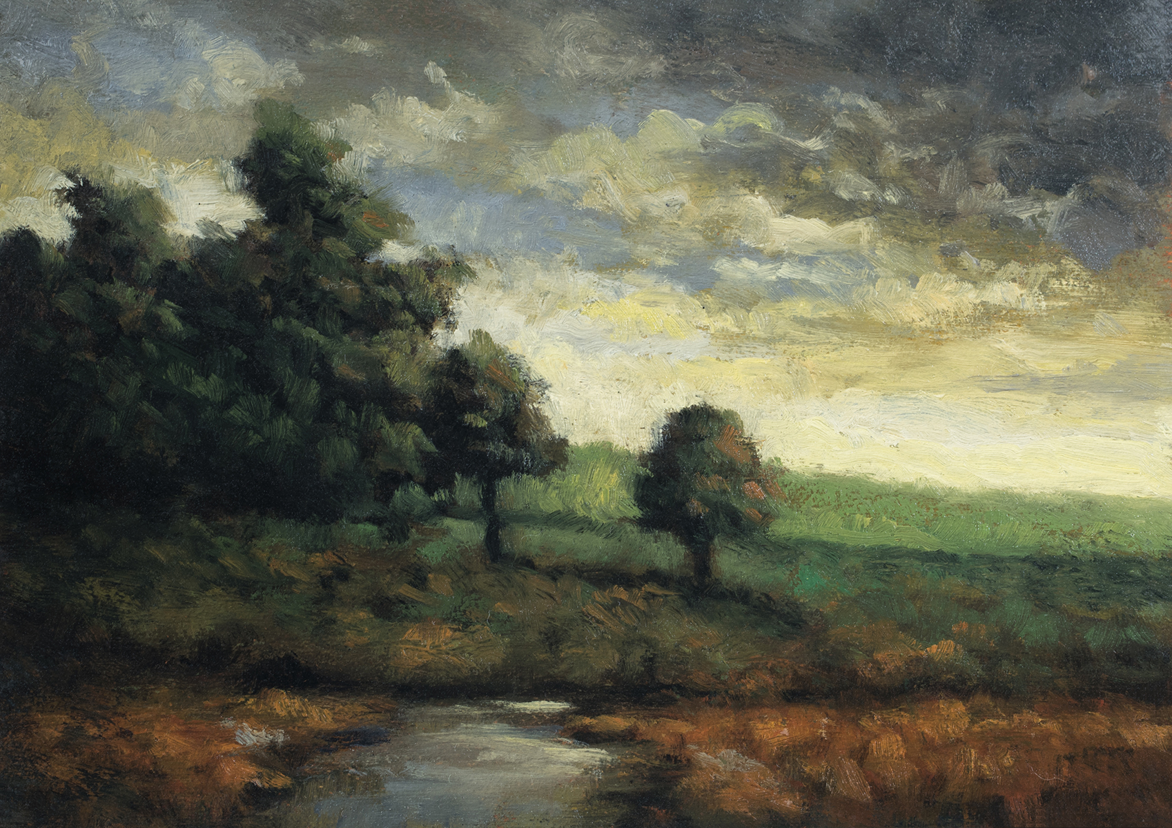 Morning Glowby M Francis McCarthy - 5x7 Oil on Wood Panel