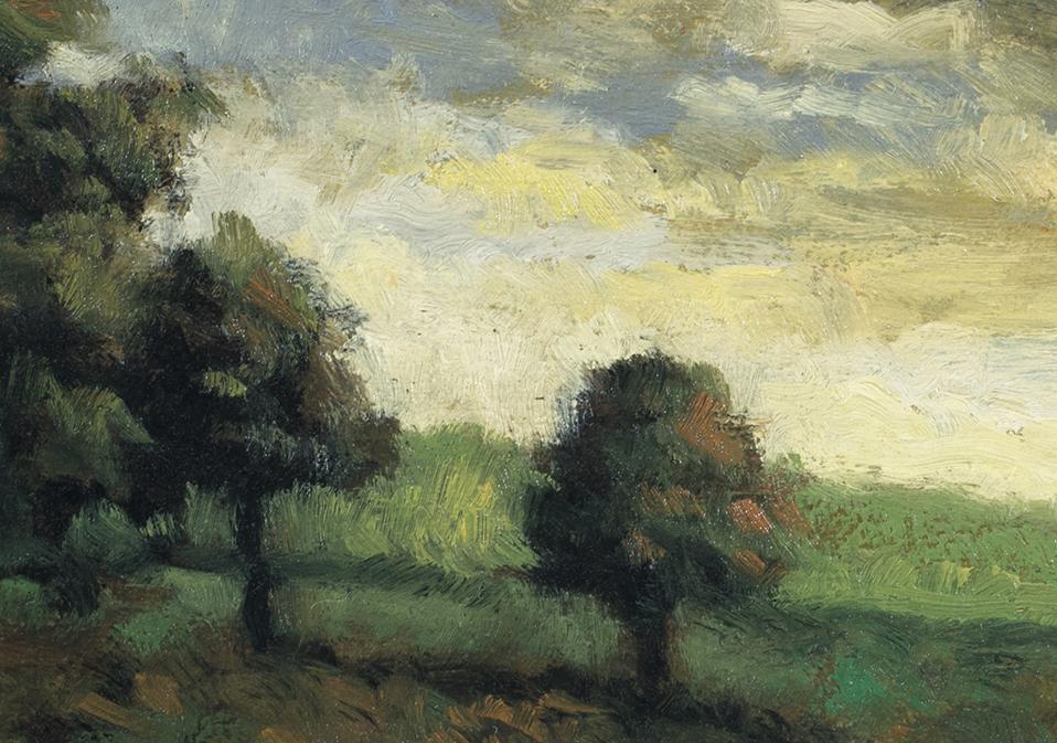 Morning Glow by M Francis McCarthy - 5x7 (Detail)