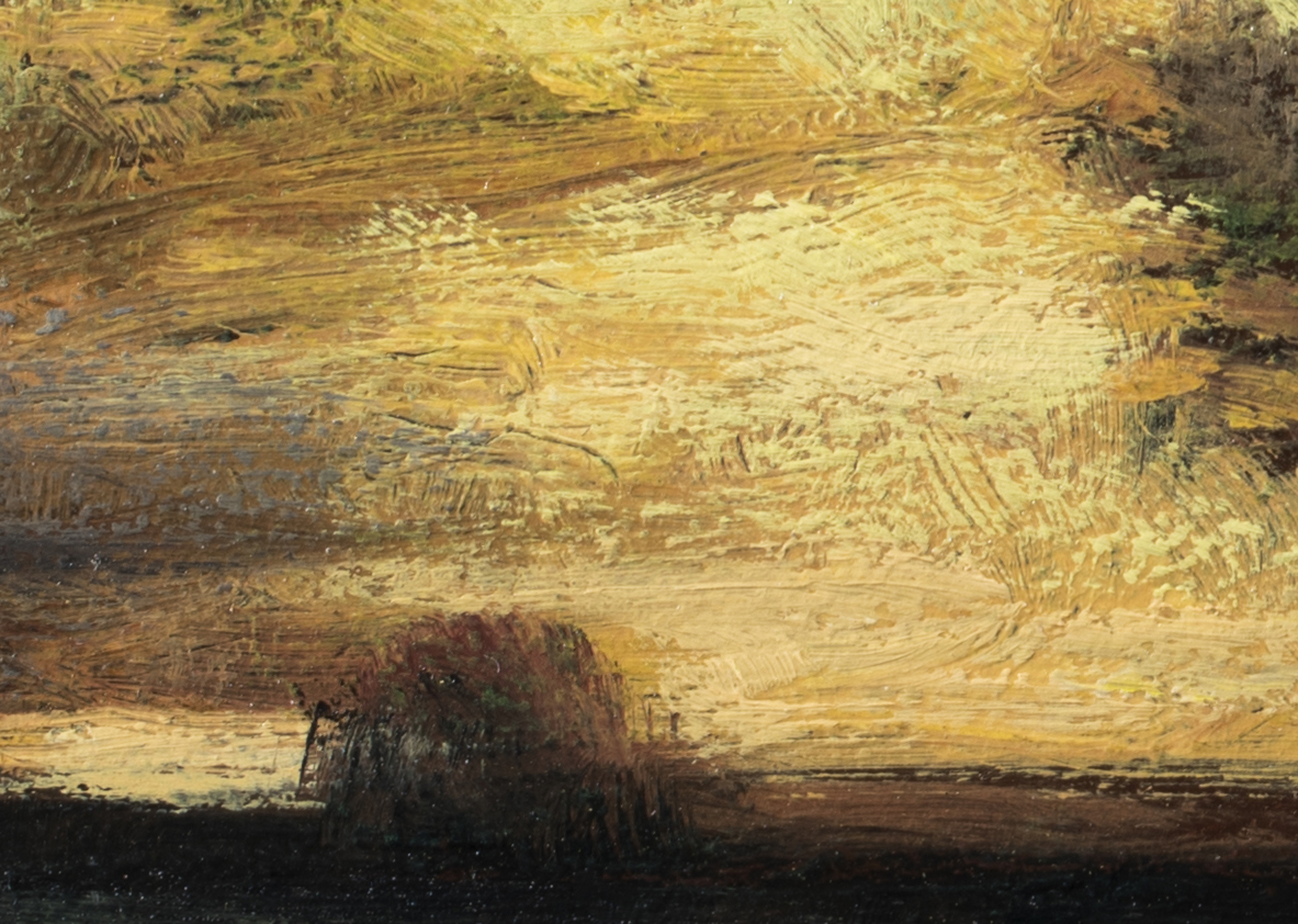 Study after: John Francis Murphy - Evening by M Francis McCarthy - 5x7 (Detail 2)