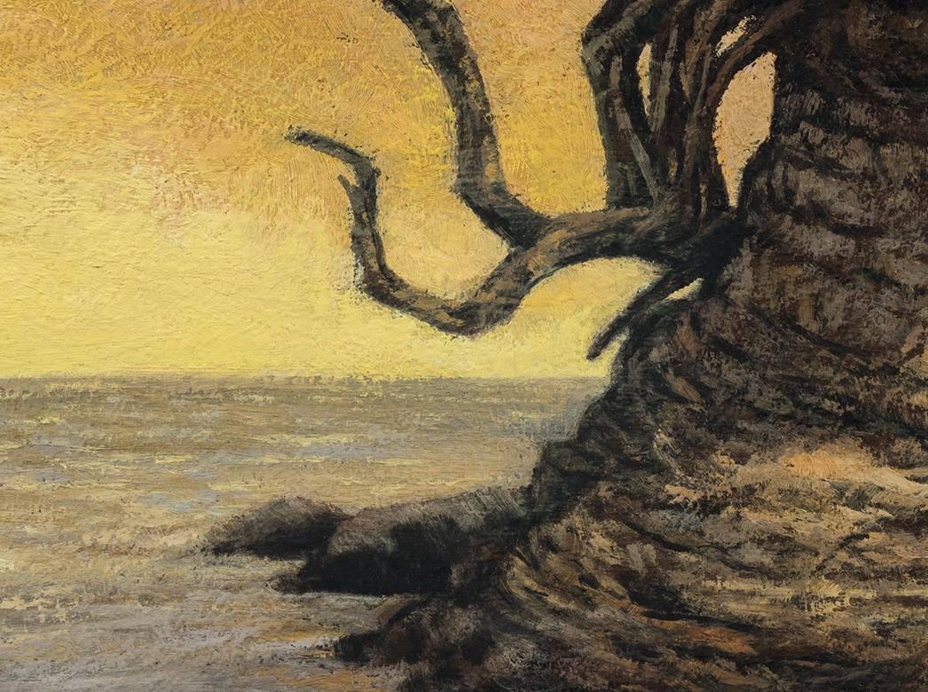 Sunrise Cove by M Francis McCarthy - 12x16 (Detail)