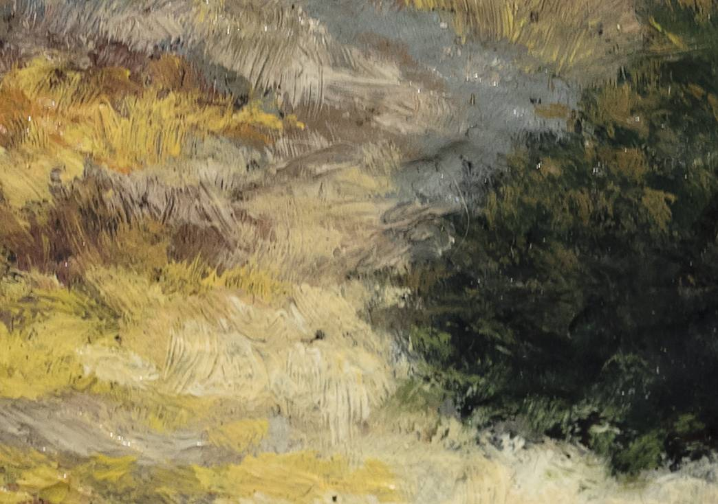 Twilight Rock by M Francis McCarthy - 2½x3 (Detail 2)