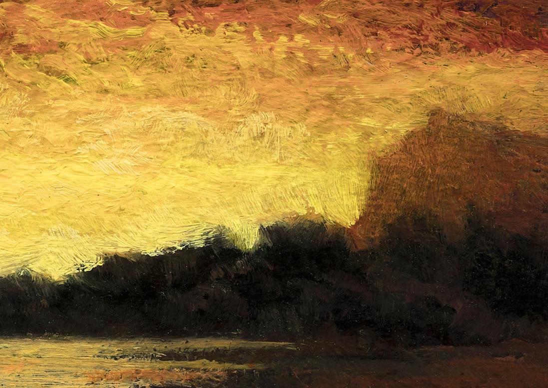 Stormglow by M Francis McCarthy - 5x7 (Detail)