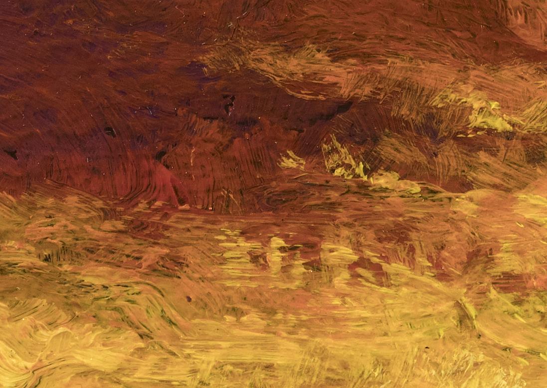 Stormglow by M Francis McCarthy - 5x7 (Detail 2)