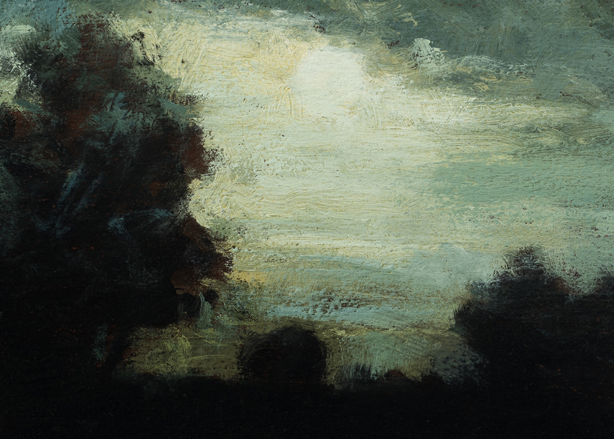 Study after Charles Warren Eaton - Landscape by M Francis McCarthy (Detail)