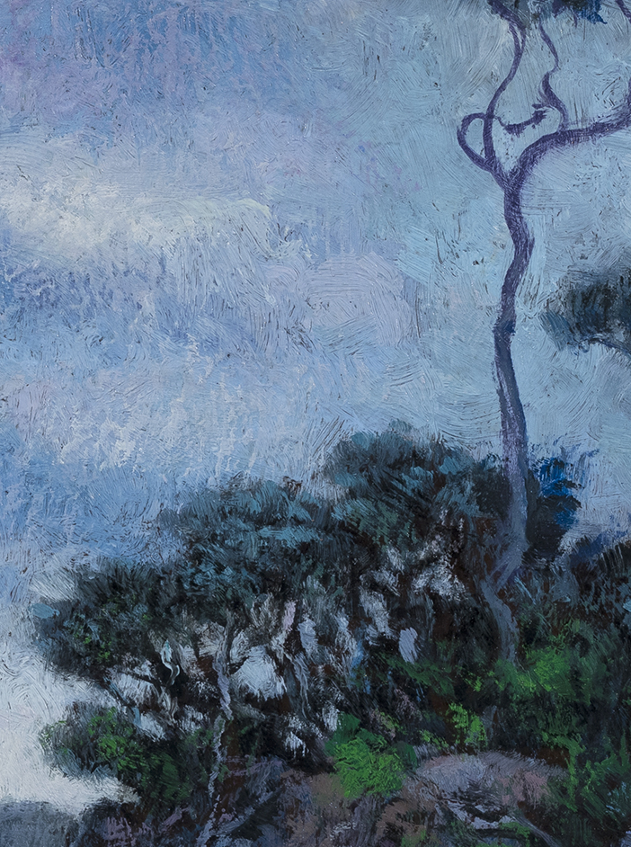 Tides Out by M Francis McCarthy - 6x8 (Detail)
