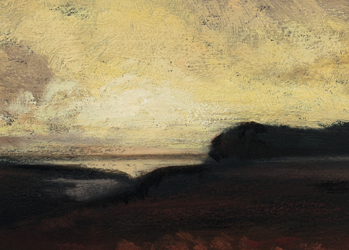 Study after: George Inness The Storm by M Francis McCarthy (detail)