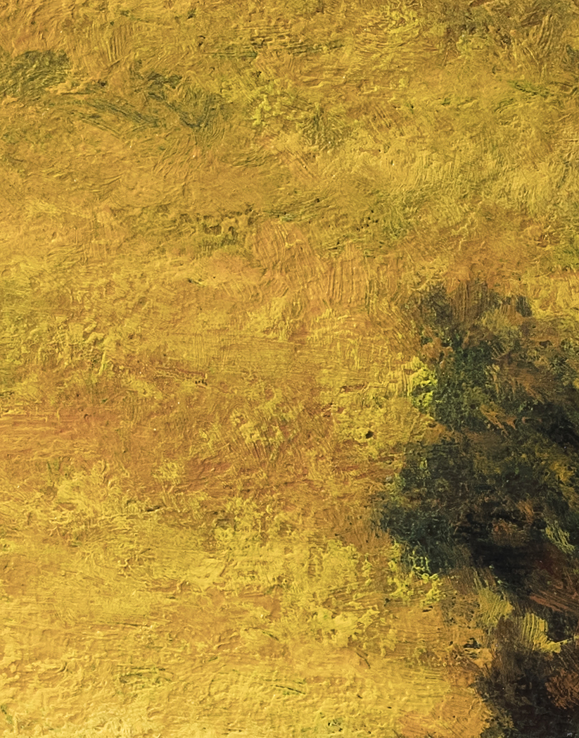 Golden Dusk by M Francis McCarthy - 11x14 (Detail)