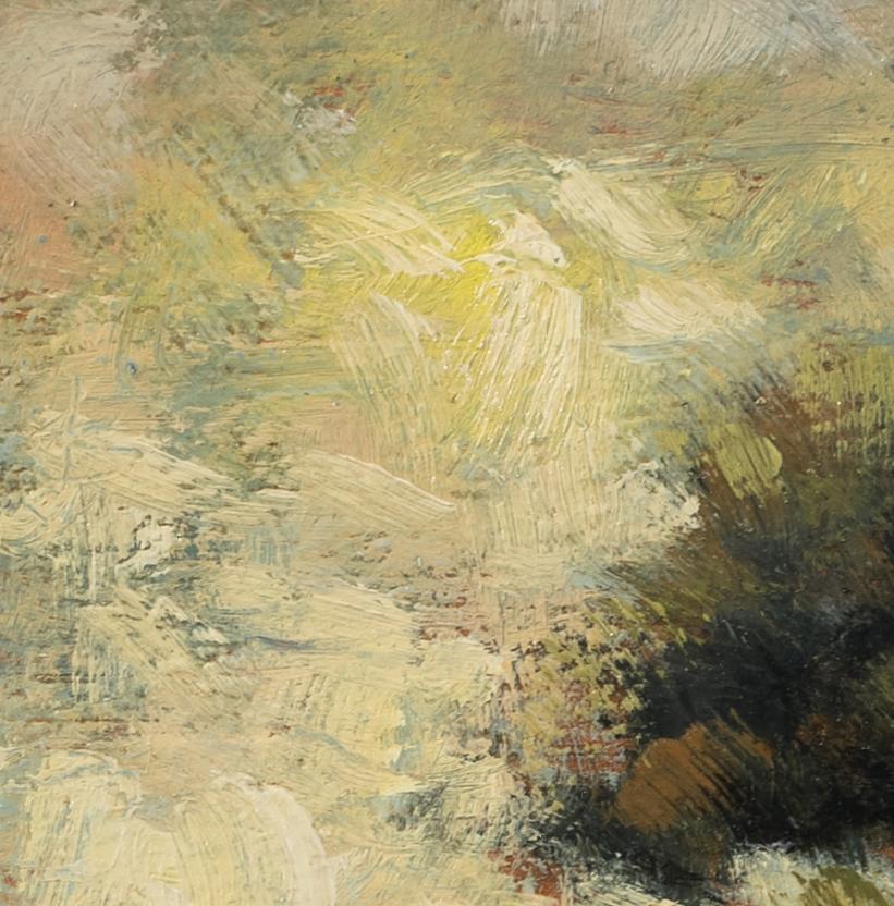 Rocky Field by M Francis McCarthy - 5x5 (Detail)