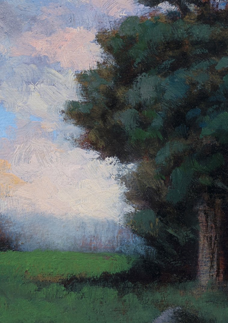 Meadow at Twilight  by M Francis McCarthy - 5x7 (Detail)