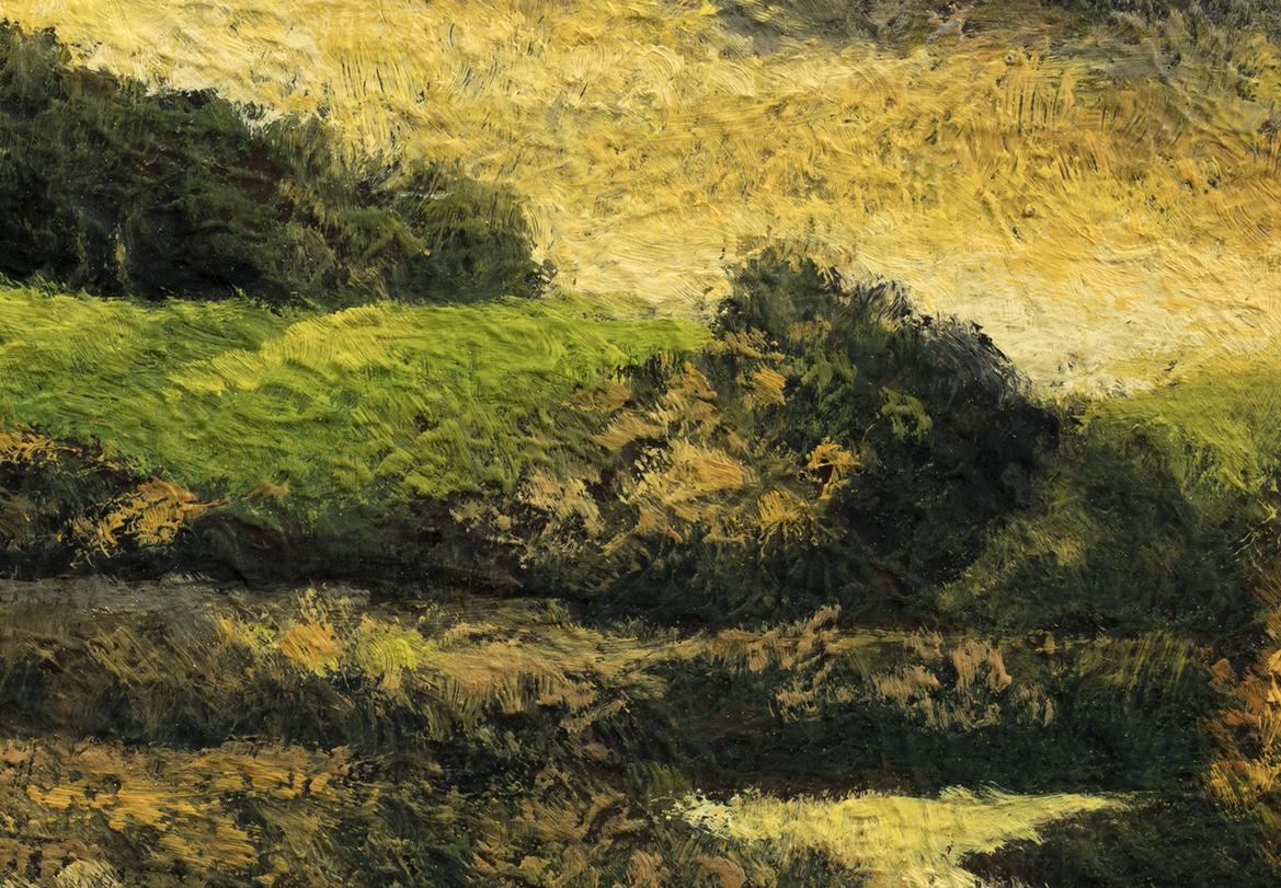 Break of Dawn by M Francis McCarthy - 3½x5 (Detail)