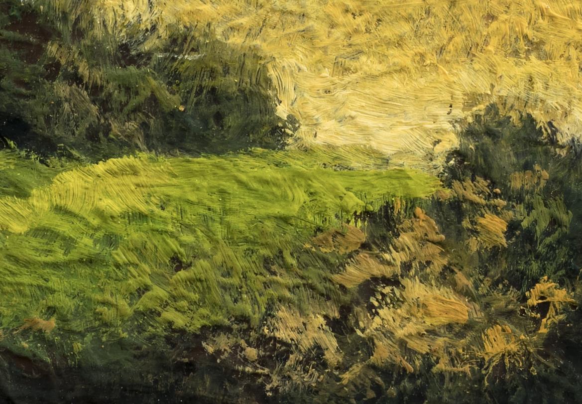 Break of Dawn by M Francis McCarthy - 3½x5 (Detail 2)
