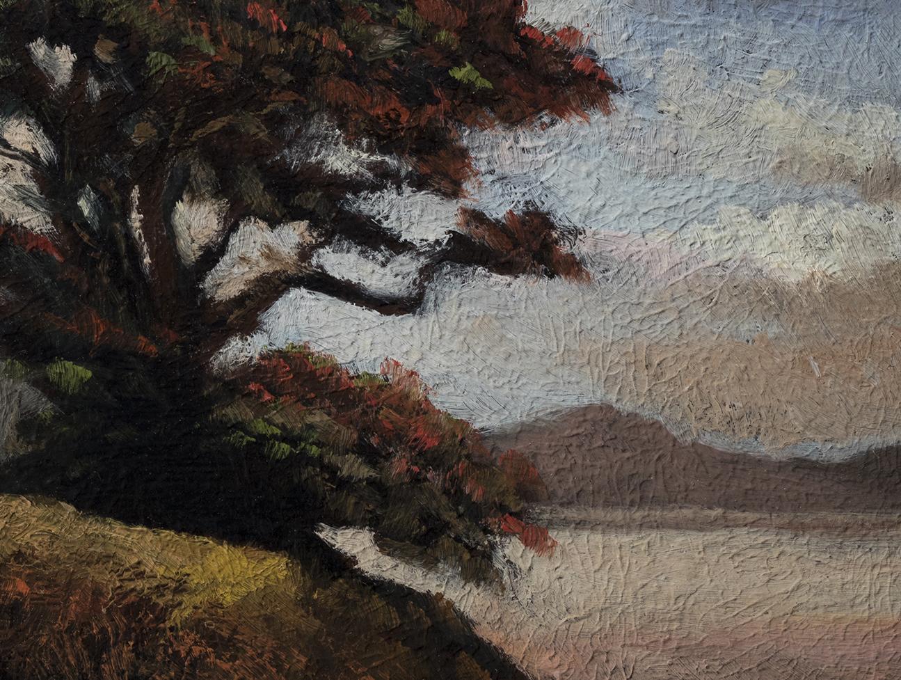 Coastal Morning by M Francis McCarthy - 6x8 (Detail)