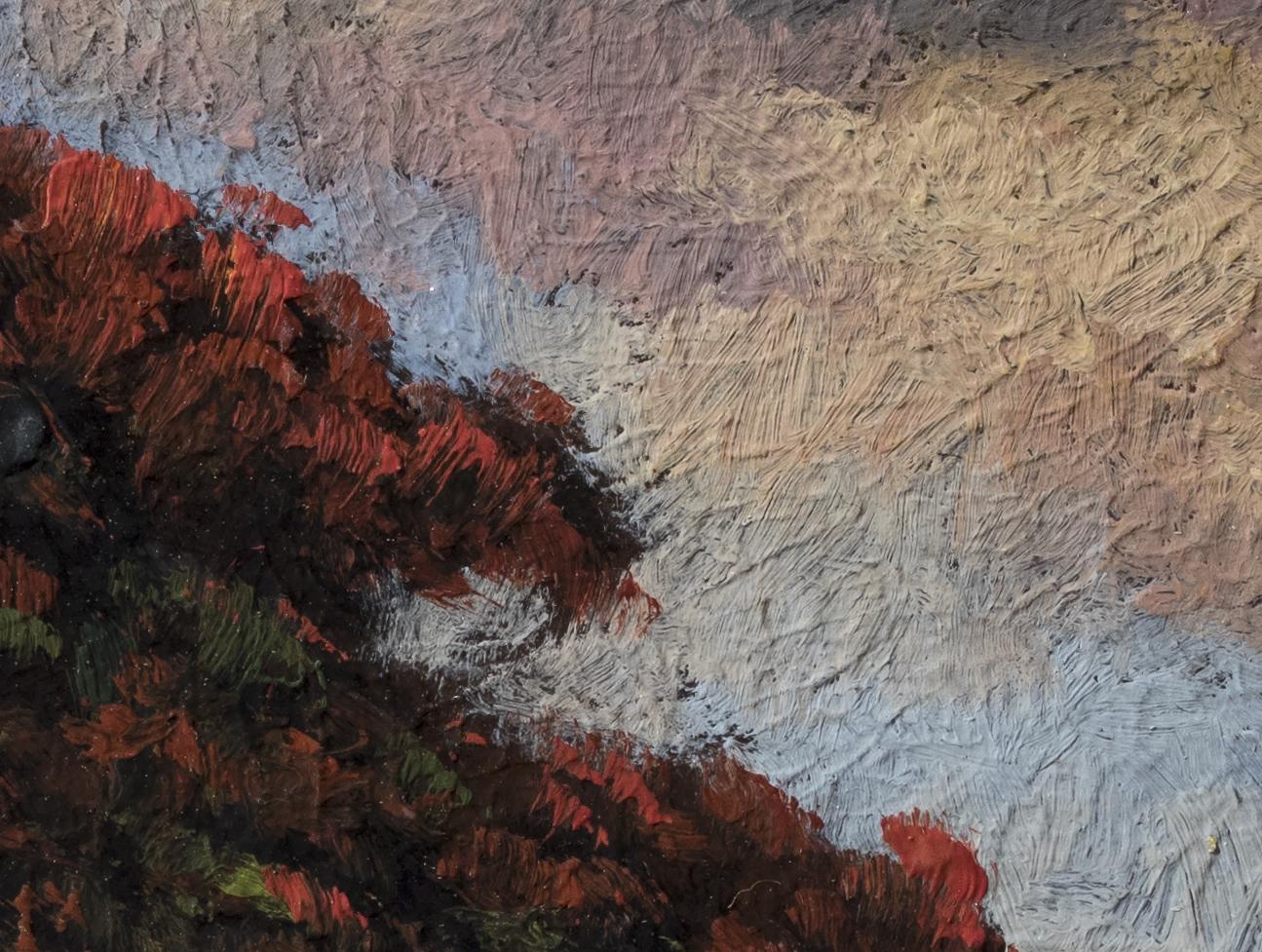 Coastal Morning by M Francis McCarthy - 6x8 (Detail 2)
