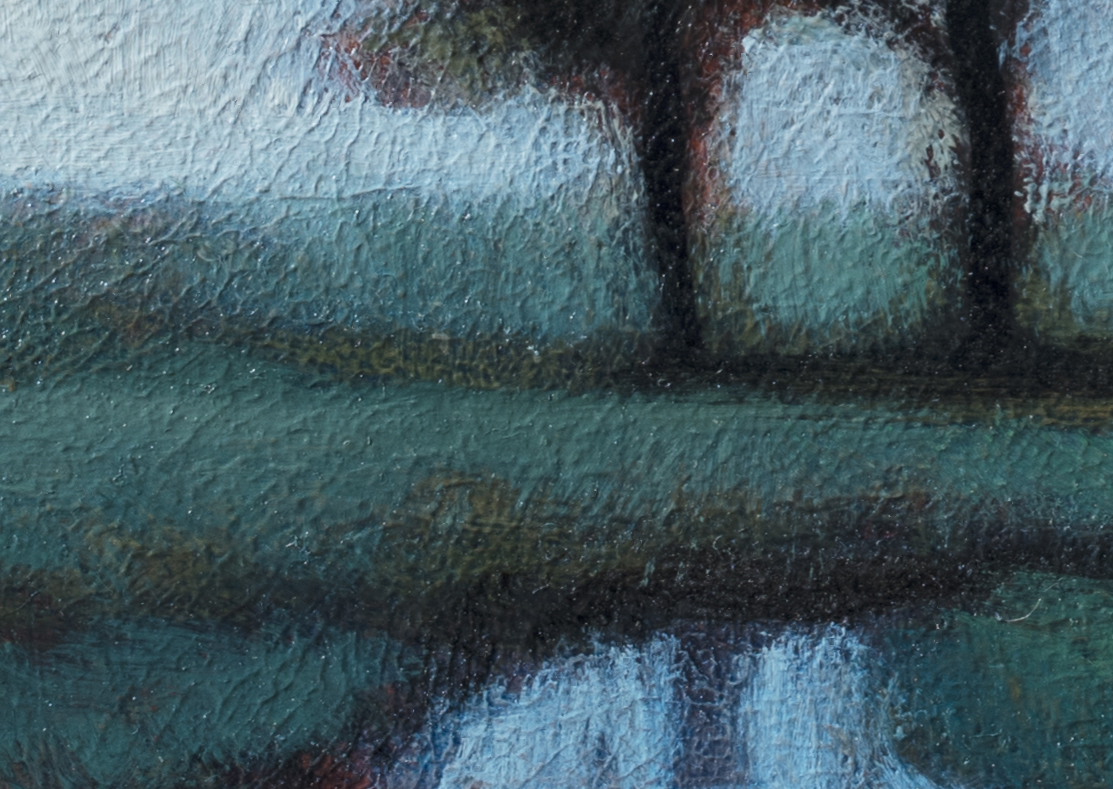 Spring Field by M Francis McCarthy - 5x7 (Detail 2)