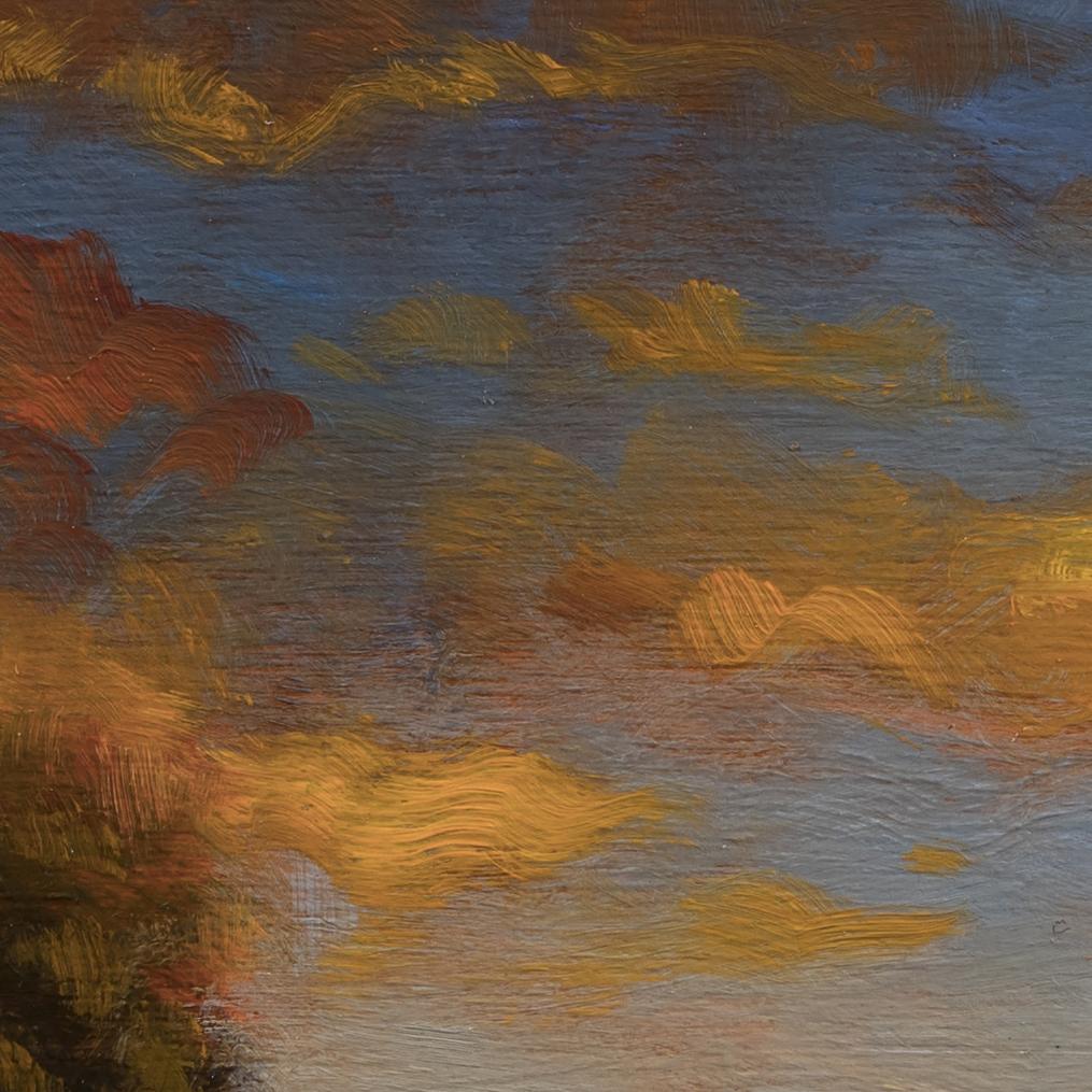 No Man's Land by M Francis McCarthy - 8x8 (Detail)