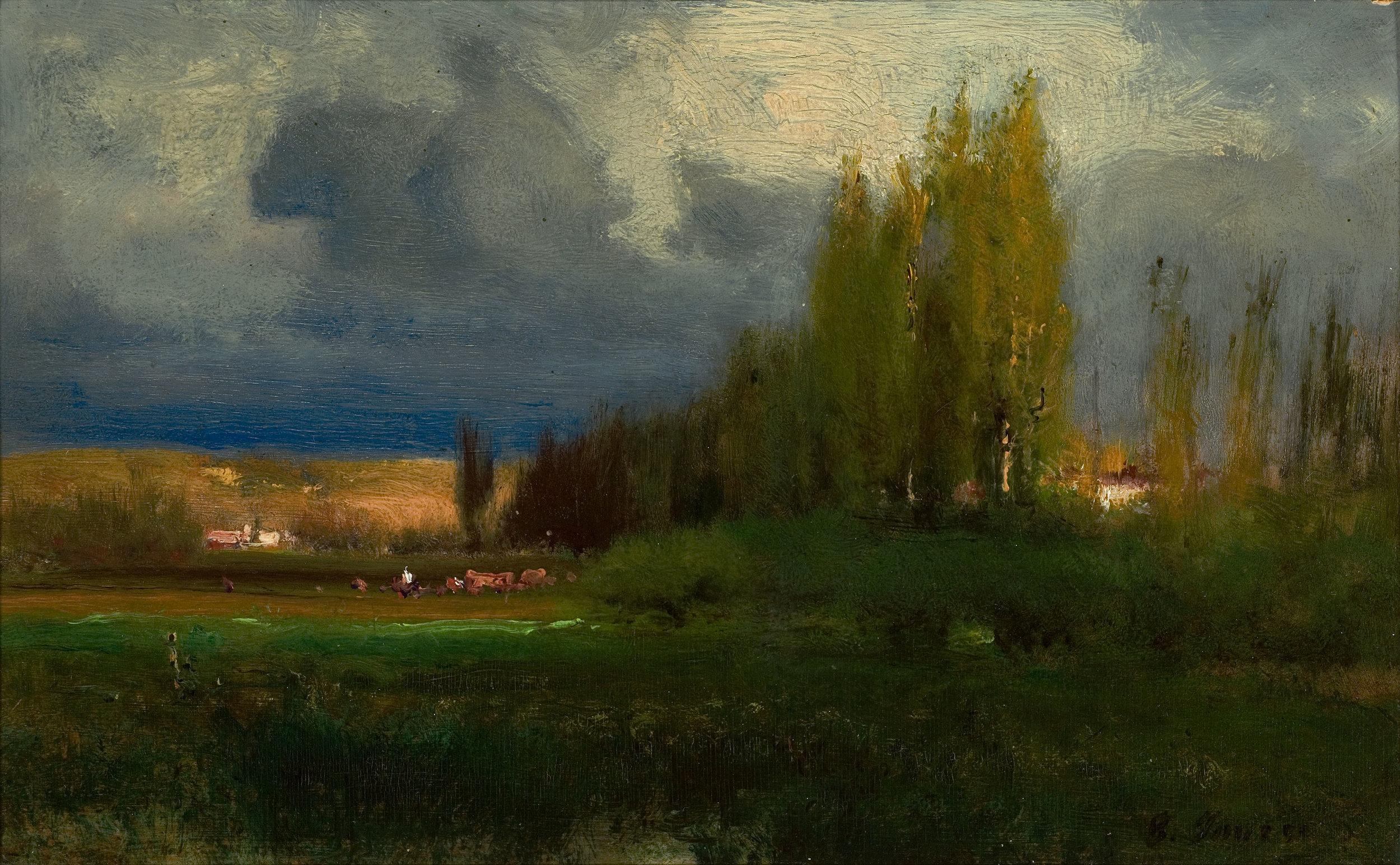 George Inness - Landscape (Original)