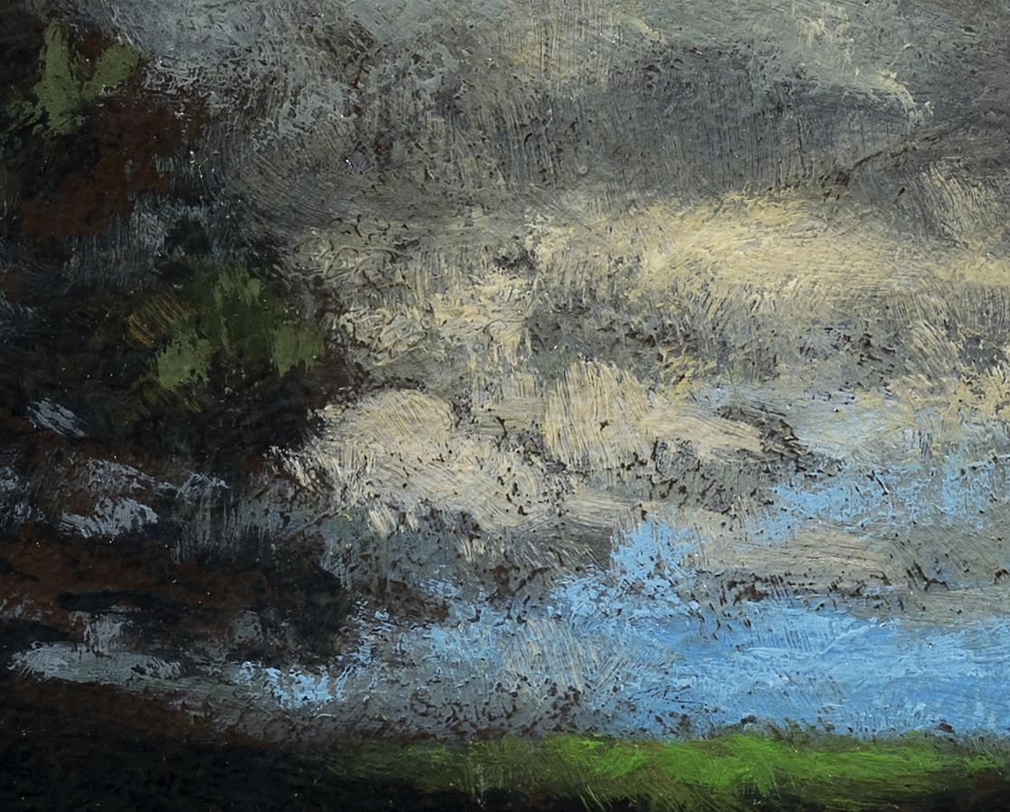Study after:Alexander Wyant Landscape by M Francis McCarthy - 8x10