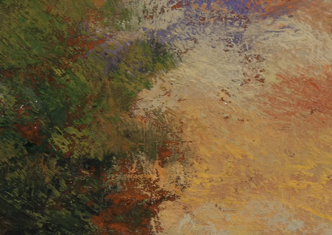 Waning Day by M Francis McCarthy - 5x7 (Detail 2)