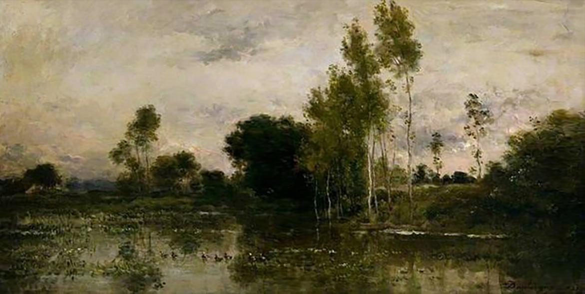 Jules Dupre - Landscape (Original)