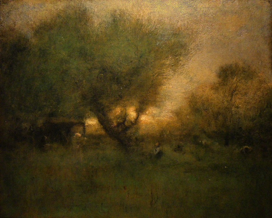 George Inness - In the Gloaming (Original)