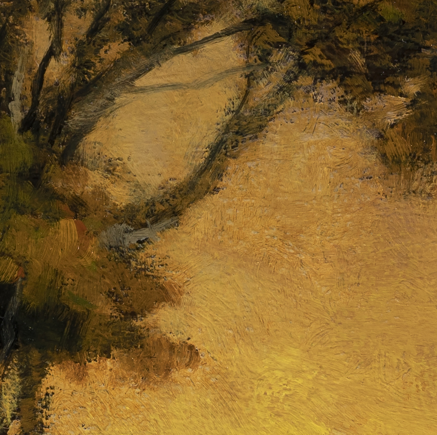 Road to Twilight by M Francis McCarthy - 12x12 (Detail 2)