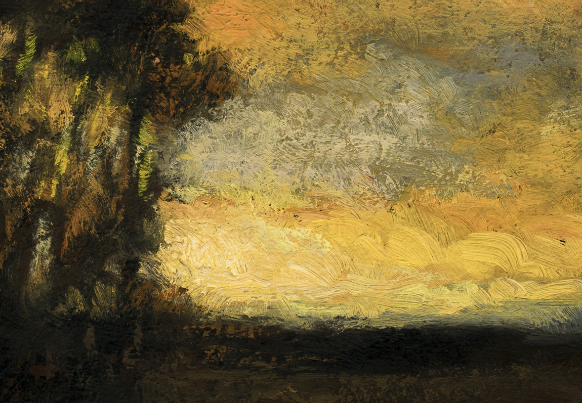 Study after: Charles Appel Landscape by M Francis McCarthy - 7x10 (Detail)