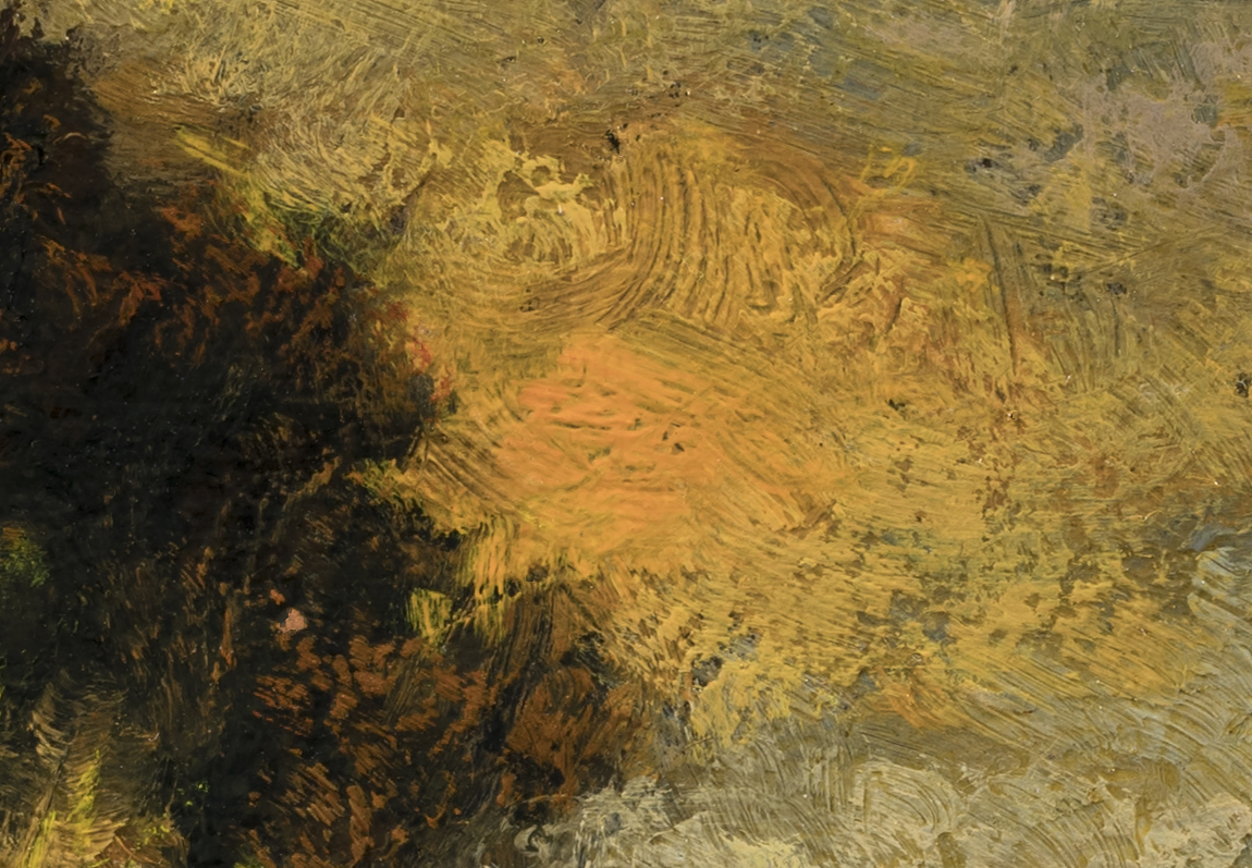 Study after: Charles Appel Landscape by M Francis McCarthy - 7x10 (Detail 2)