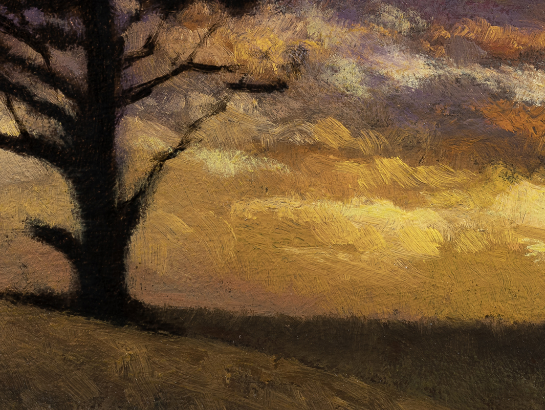 Twilight Color by M Francis McCarthy - 6x8 (Detail)