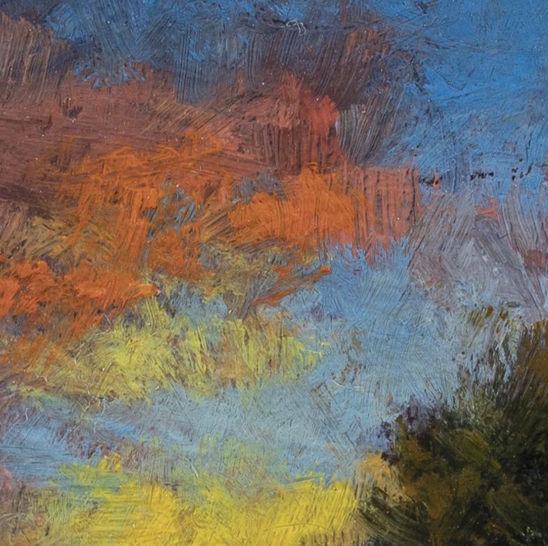 Morning Stream by M Francis McCarthy - 3½x3½ (Detail 2)